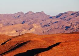 Desierto africano en Marruecos