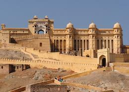 Castillo en norte de India