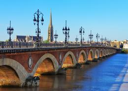 Puente Bordeaux Francia