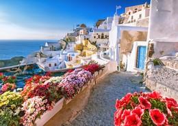 Viaje a Rodas y Santorini