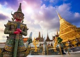 Vista panoramica de Bangkok